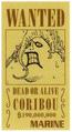 Coribou Avis de Recherche Vivre Card