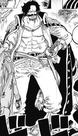 Gol D. Roger Manga Infobox