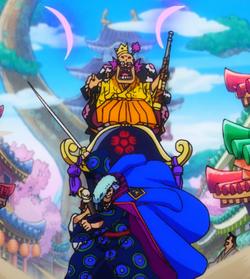 Kyoshiro salva Orochi