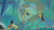 Zoro prallt auf Neptune