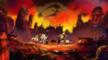 Blackbeard Pirates Flee from Akainu