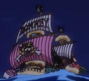 Bonney Pirates Ship