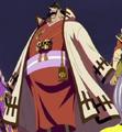 Hogback en el Especial Histórico del Jefe Luffy