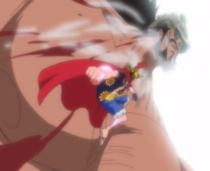 Luffy Defeats Hajrudin