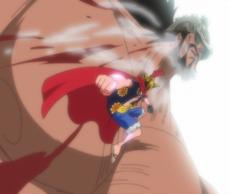 Luffy Defeats Hajrudin