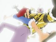 Luffy brise l'armure de Krieg