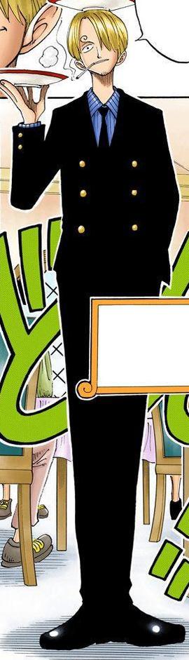 Manga Sanji Pre Timeskip Infobox