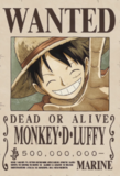 Monkey D. Luffy Avis de Recherche Post Dressrosa