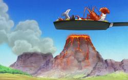Panz Fry cucina vulcano