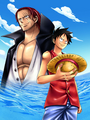 Shanks Luffy One Piece Romance Dawn