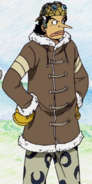 Usopp's Outfit Drum Island Arc