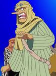 Vestimenta de Usopp en el Arco de Arabasta