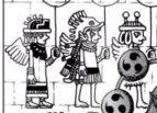 Ancient Drawing of Sky People