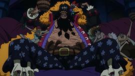 Marshall D. Teach Anime Dos Años Después Infobox