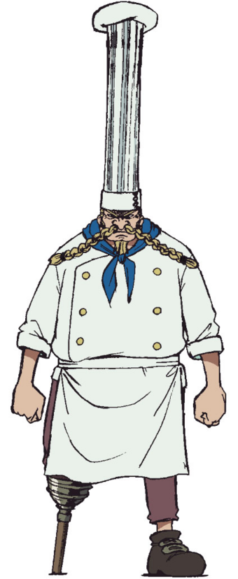 dick head chef cartoon