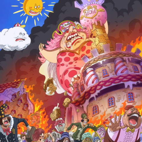 Big Mom perde il controllo