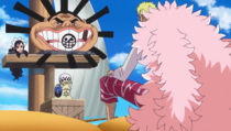 Doflamingo Negotiating