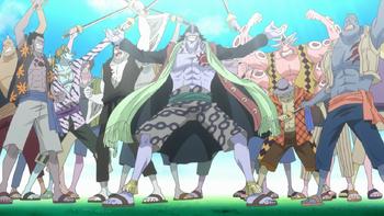 Пираты Арлонга, рыболюди