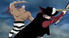 Mihawk derrota a Daz Bones