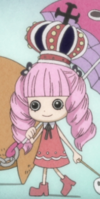Perona as a kid