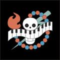 Piratas On Air bandera