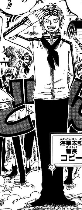 Coby Manga Pre Timeskip Infobox