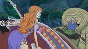 Conflit entre Nami et Zoro