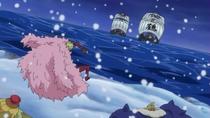 Doflamingo fears Tsuru