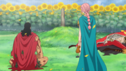 Kyros and Rebecca Sit Before Scarlett's Grave