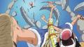 Luffy derrota a Wapol