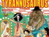 One Piece Color Walk 7 Tyrannosaurus