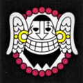 Piratas del Monje Caído bandera
