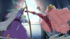 Doflamingo vs Issho