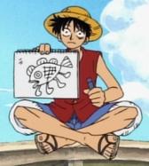 First Fish-Man Drawing