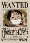 Luffy Poster Buronan
