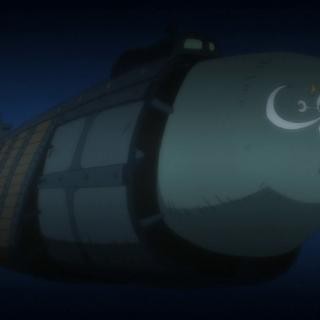 Il sottomarino di Shuzo