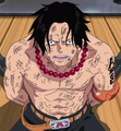 Ace During The Battle of Marineford