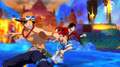One Piece Unlimited World Red Luffy et Ace face à Aokiji