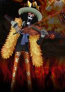 Brook in Burning Blood