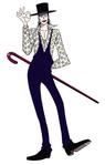 Concept Art Lafitte Anime