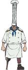 Concepto de Zeff en el anime