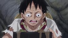 Luffy prend le repas de Sanji Sweet City