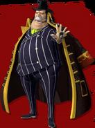 Capone Bege Pirate Warriors 4