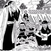 Koshiro y sus alumnos