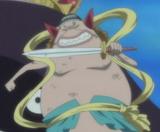 Manboshi avec son sabre