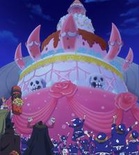 Sanji's Wedding Cake Completed