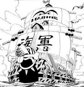 Bateau de Garp Manga Infobox
