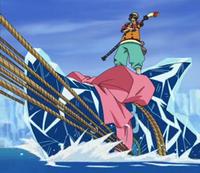 Hockera e il sommergibile congelato