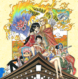 One Piece x Kyoto