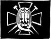 Hawkins Pirates' Jolly Roger